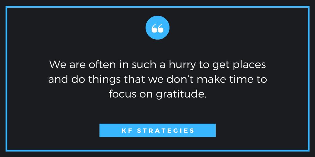 work gratitude